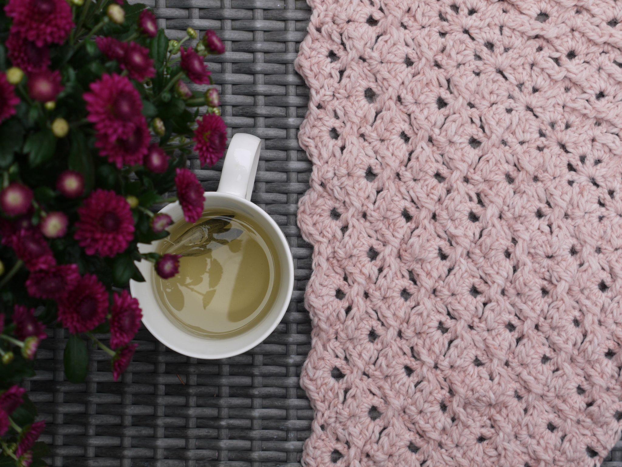 Gehaakte Omslagdoek Crochet Shawl Zusje Knus