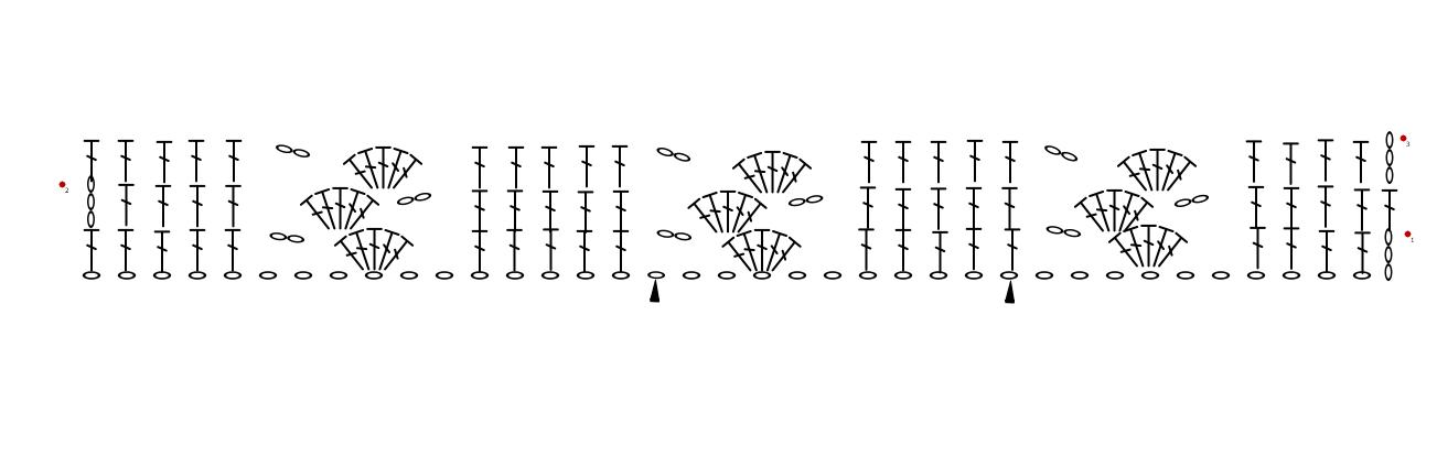 Haakdiagram Louisa Deken