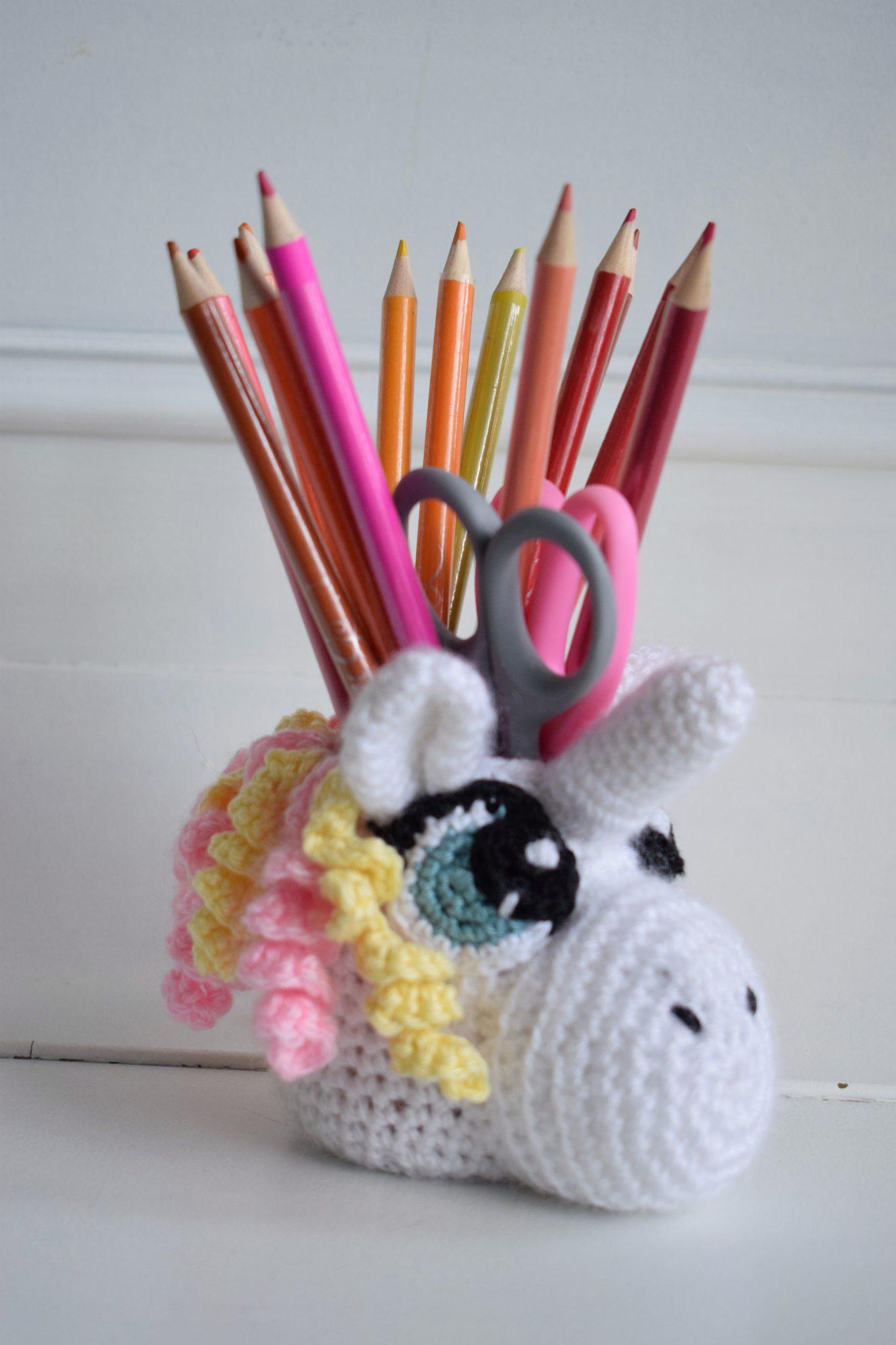 Unicorn Potje Haken Gratis Haak Patroon Van Zusjeknus