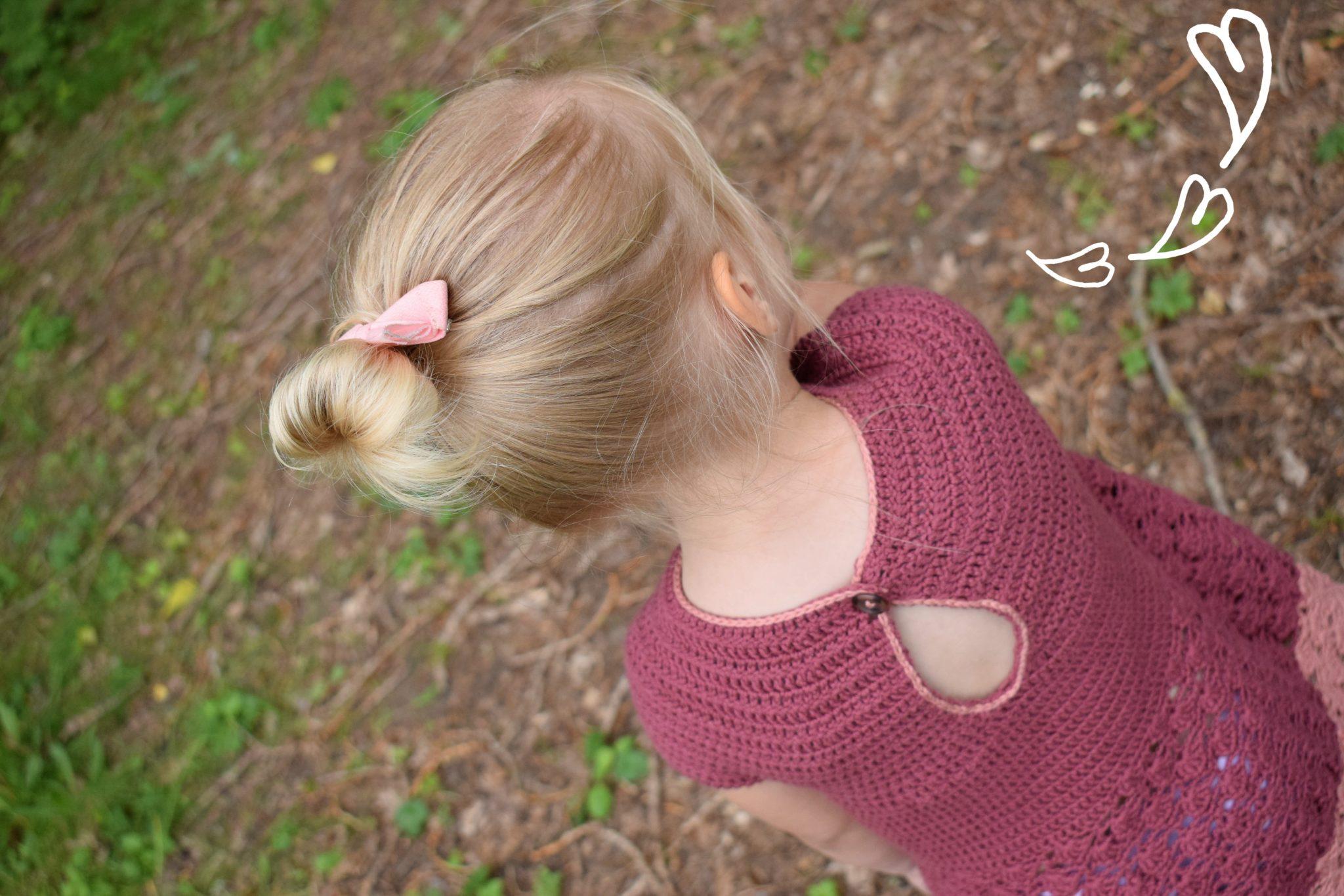 1995646a8ea94 Crochet pattern for a girls dress- The Elice Dress! - Zusje Knus